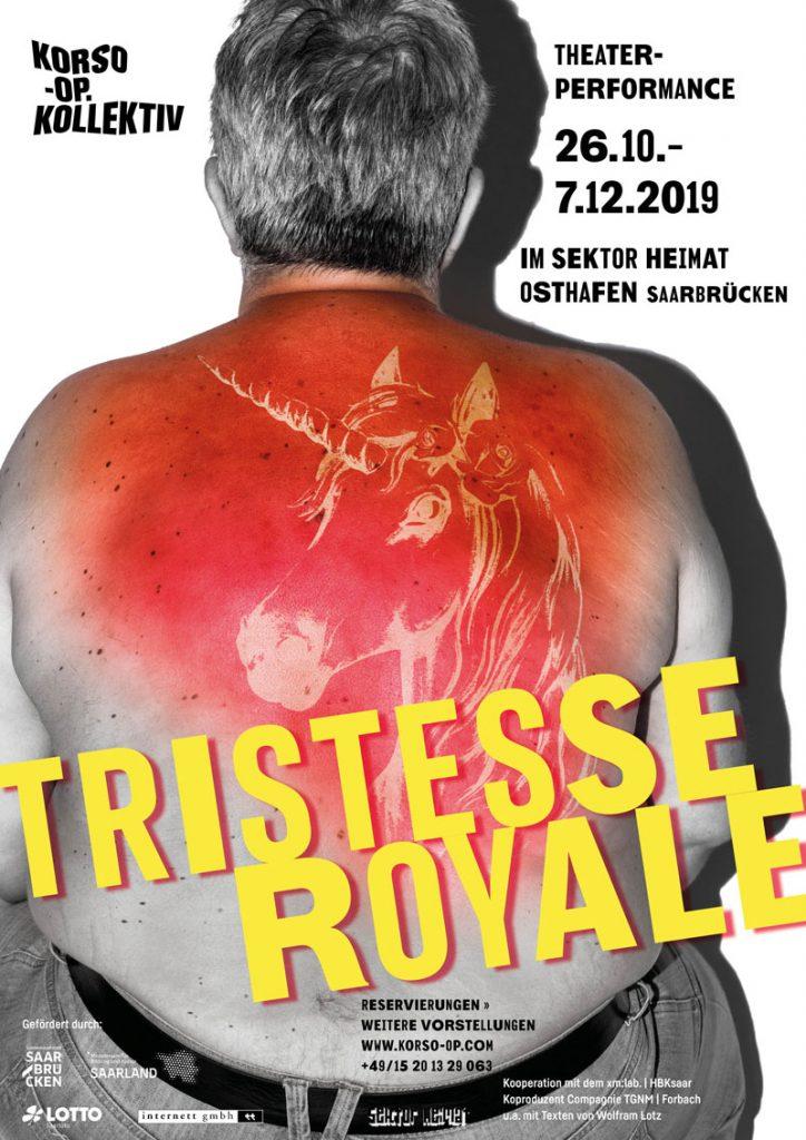 """Plakat """"Tristesse Royale"""""""